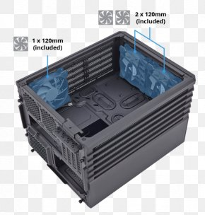 Computer Cases Housings - Computer Cases & Housings MicroATX Corsair Carbide Series Air 540 Mini-ITX PNG