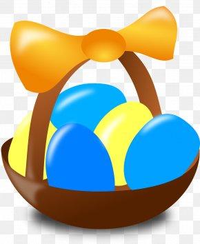 Egg - Easter Egg Egg In The Basket Clip Art PNG