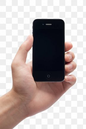 Hand Holding Iphone - Stock Photography Clip Art PNG