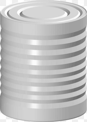 Tin Can - Clip Art Tin Can Openclipart Drink Can Free Content PNG