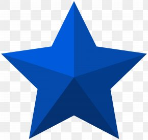 Blue Star Clip Art Image - Star Shape Icon PNG