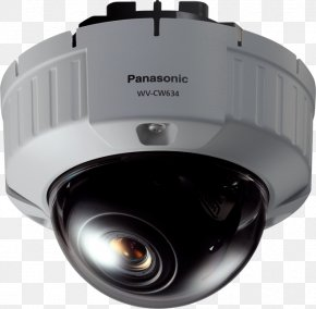 Camera - Panasonic Kamera WV-CW634SE Closed-circuit Television IP Camera Pan–tilt–zoom Camera PNG