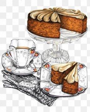 Refreshment Cake - Tea Scone Cucumber Sandwich Mrs. Patmore Recipe PNG