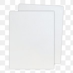 Paper Sheet Free Image - Square Angle White PNG
