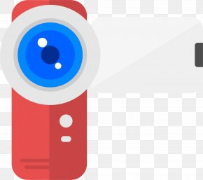 Red Home Camera - Video Camera Icon PNG