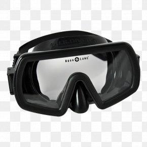 Full Face Diving Mask - Diving & Snorkeling Masks Aqua-Lung Scuba Diving Scuba Set Underwater Diving PNG