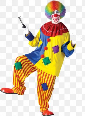 A Funny Clown - Joker Performance Clown Costume Circus PNG