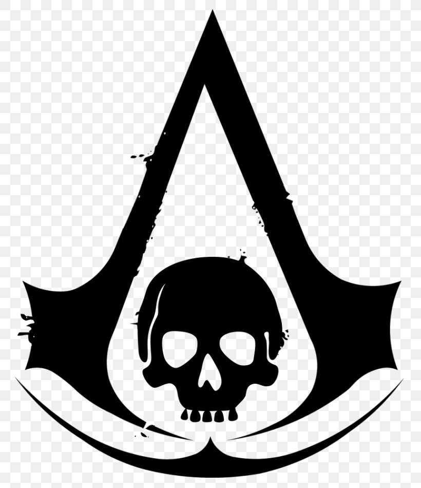 Assassin's Creed IV: Black Flag Assassin's Creed: Origins Assassin's Creed: Brotherhood Assassin's Creed Unity, PNG, 800x950px, Ezio Auditore, Abstergo Industries, Artwork, Assassins, Black And White Download Free