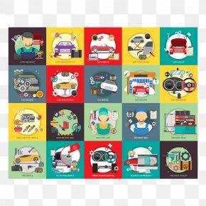Vector Car Repair - Car Automobile Repair Shop Auto Mechanic Motor Vehicle Service PNG