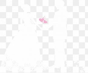 Wedding Illustration - White Black Pattern PNG