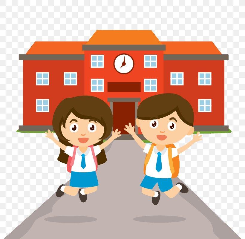 Cartoon School Bus Png 800x800px Management Animation