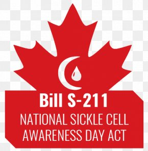 Maple Leaf Logo Brand World Sickle Cell Day Font PNG