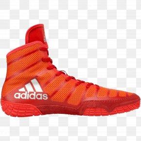 Adidas - Hoodie Wrestling Shoe Adidas Sneakers PNG