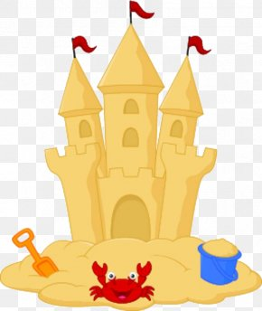 Sand Castle - Sand Art And Play Drawing Clip Art PNG