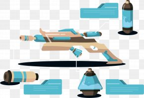 Science Fiction Weapon Analysis - Toy Weapon PNG