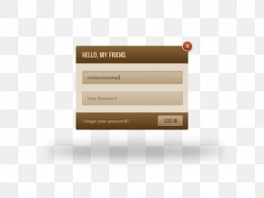 Login Interface - Web Page Download Icon PNG