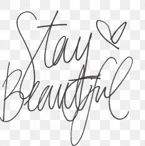 Stay Beautiful Script Typeface DaFont Font PNG