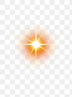 Beautiful Beautiful Sun Rays Sun Glare - Yellow Computer Pattern PNG