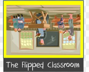 Flipped Classroom Cliparts - Student Flipped Classroom Teacher Clip Art PNG