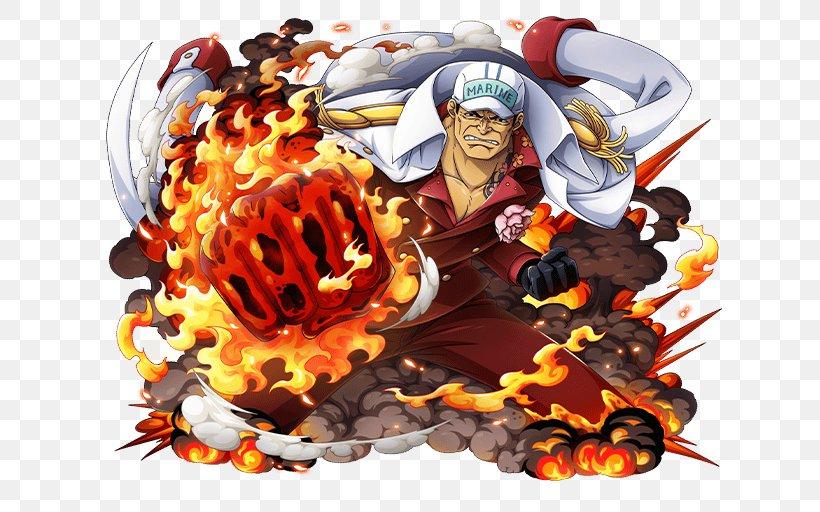 Akainu Monkey D. Luffy One Piece Treasure Cruise Usopp, PNG, 640x512px, Akainu, Borsalino, Devil Fruit, Dracule Mihawk, Fictional Character Download Free