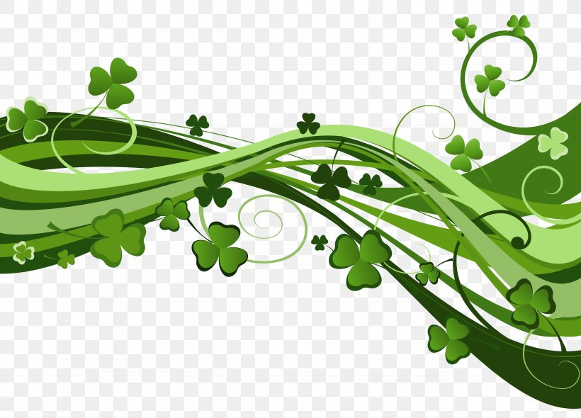 Saint Patrick's Day St. Patrick's Day Shamrocks Clip Art, PNG, 4903x3528px, Ireland, Flora, Grass, Green, Holiday Download Free