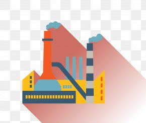 Factory Building - Factory Building Icon PNG