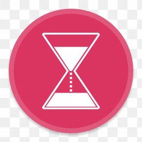 MenuBarCountDown - Pink Triangle Symbol Brand PNG