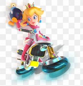 Mario Kart 8 Deluxe - Mario Kart 8 Deluxe Princess Peach Nintendo Mario Series Figurine PNG