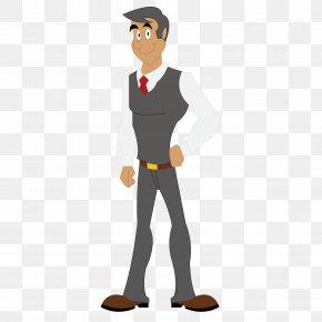 A Man In A Suit - Suit Outerwear Man PNG