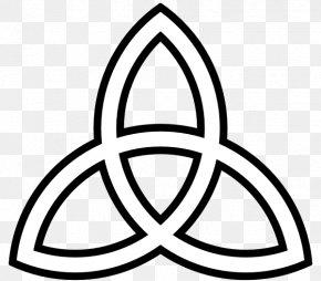 Trinity Shamrock Cliparts - Book Of Kells Celtic Knot Triquetra Celts Clip Art PNG