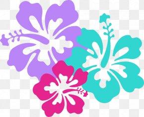 Hawaii Graphics - Hawaiian Flower Clip Art PNG