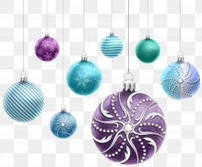 Beautiful Christmas Ornaments Clipart Image - Christmas Ornament Christmas Decoration Clip Art PNG