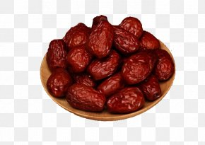 Dried Red Dates Dry Dates - Fruit Dates Jujube Date Palm PNG