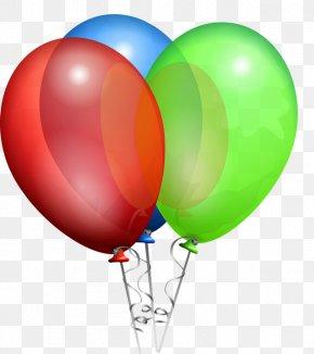 Balon - Balloon Party Clip Art PNG