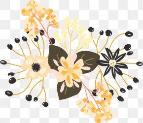 Watercolor Floral Decoration - Floral Design Watercolor Painting Flower PNG