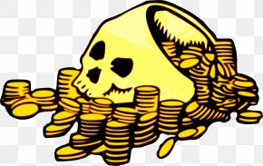 Gold - Clip Art Piracy Gold Openclipart Doubloon PNG