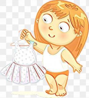 Child Art Gesture - Cartoon Happy Angel Gesture Child Art PNG