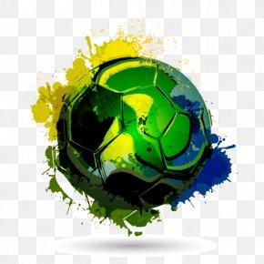 Brazilian Football - Brazil National Football Team PNG
