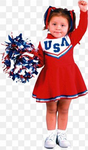 Child - Cheerleading Uniforms Toddler Halloween Costume Child PNG