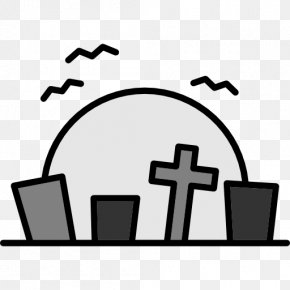 Cemetery - Headstone Cemetery Grave Tomb Clip Art PNG