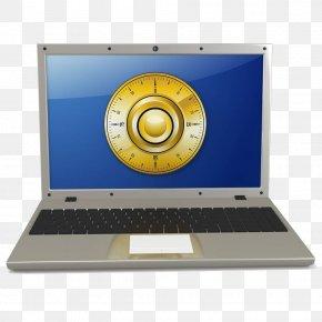 Computer Unlock Interface - Laptop Computer Download Password PNG