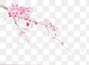 Pink Cherry Blossoms - Sakura-Con Cherry Blossom Idea PNG