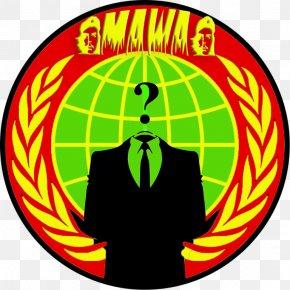 Anonymous - Anonymous Internet Logo .de PNG