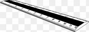 Ruler - White Angle Black Computer Hardware PNG