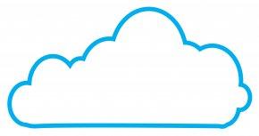 Cloud Service Cliparts - Cloud Computing Microsoft Azure Amazon Web Services Platform As A Service On-premises Software PNG