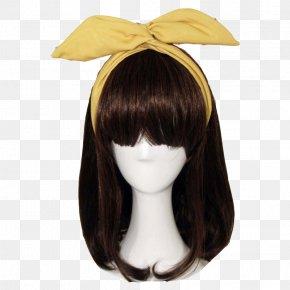 Cute Korean Hair Accessories - Wig Barrette Headband Fashion Accessory PNG