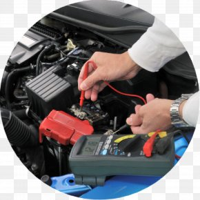 Car - Electric Car Electric Vehicle Automobile Repair Shop Automotive Battery PNG