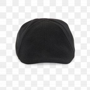 Black Bachelor Cap - Baseball Cap Headgear Black M PNG