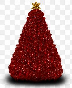 Christmas Tree - Christmas Tree Santa Claus Clip Art PNG