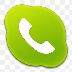 Skype Phone Green Icon Skype Icons SoftIconsm - Mobile Phones Skype Communications S.a R.l. Telephone PNG